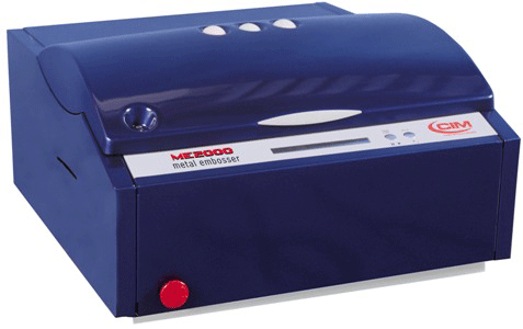 ME2000 Dog Tag and metal plate Embosser Automatic