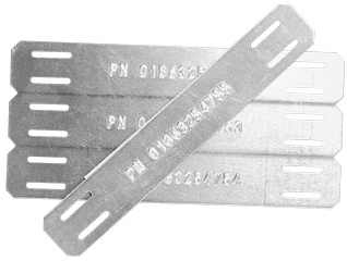 embossed cable tags